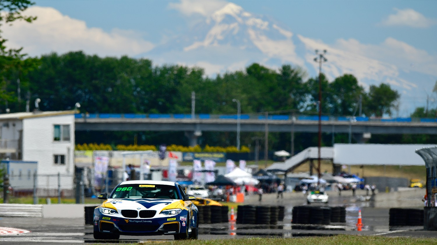 Schwartz Scores TC Pole at Portland