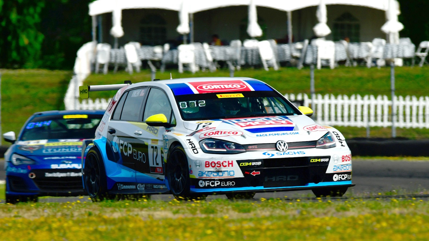 Vincent Tops TCR Charts Again at Portland.