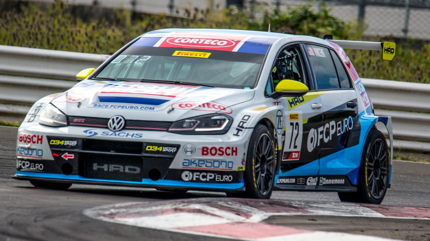 Vincent/Putt Fastest in TCR/TCR Cup Practice 1, Haldeman tops TCA Charts
