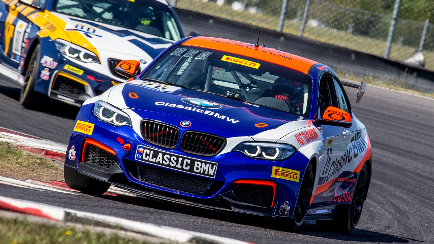 Grahovec Puts in Sensational TC Performance This Weekend at PIR,  But Results Don't Match the Classic BMW Driver's Pace