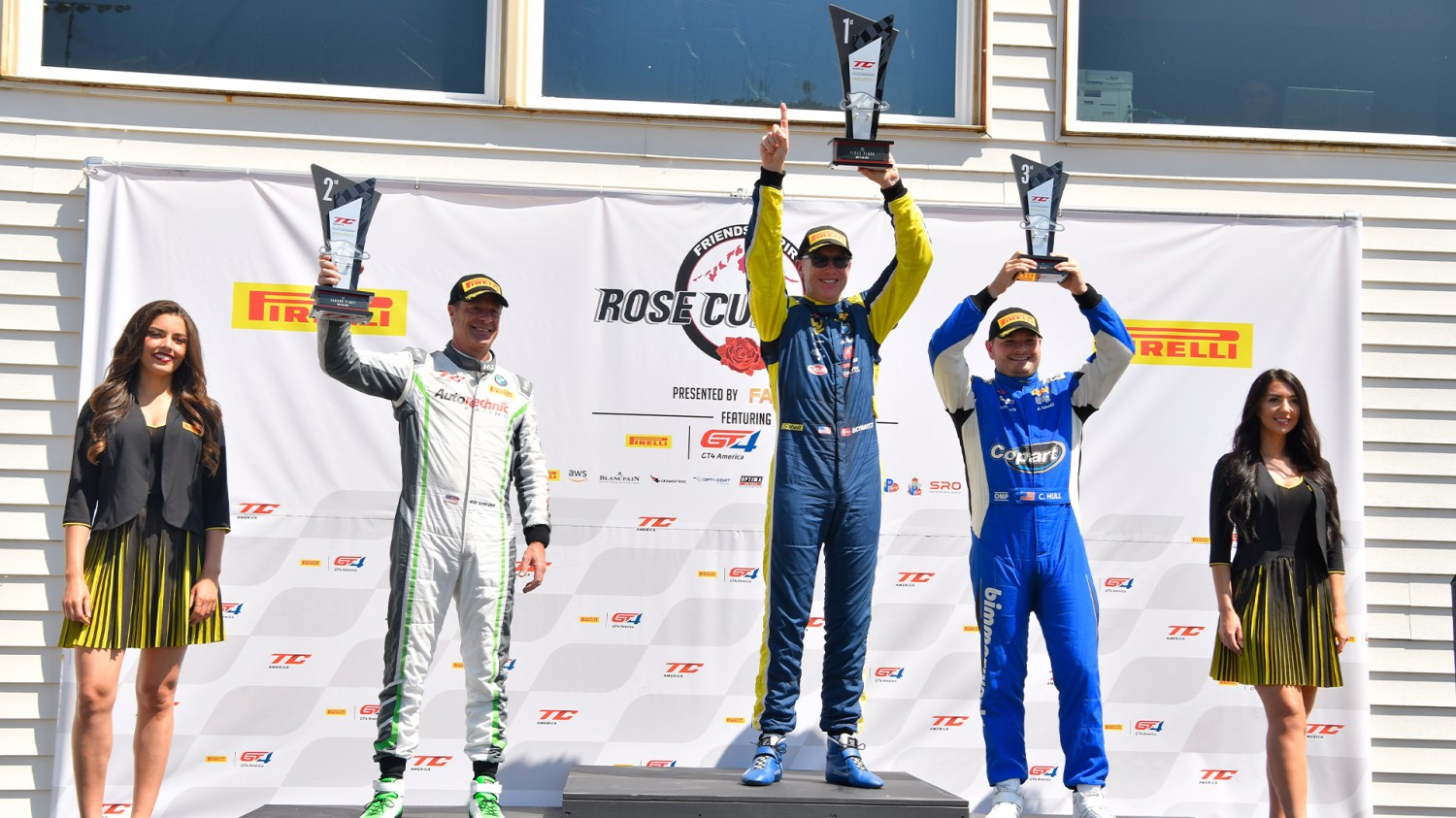 Schwartz Outduels Grahovec Again to Win TC America Race  at Portland International Raceway