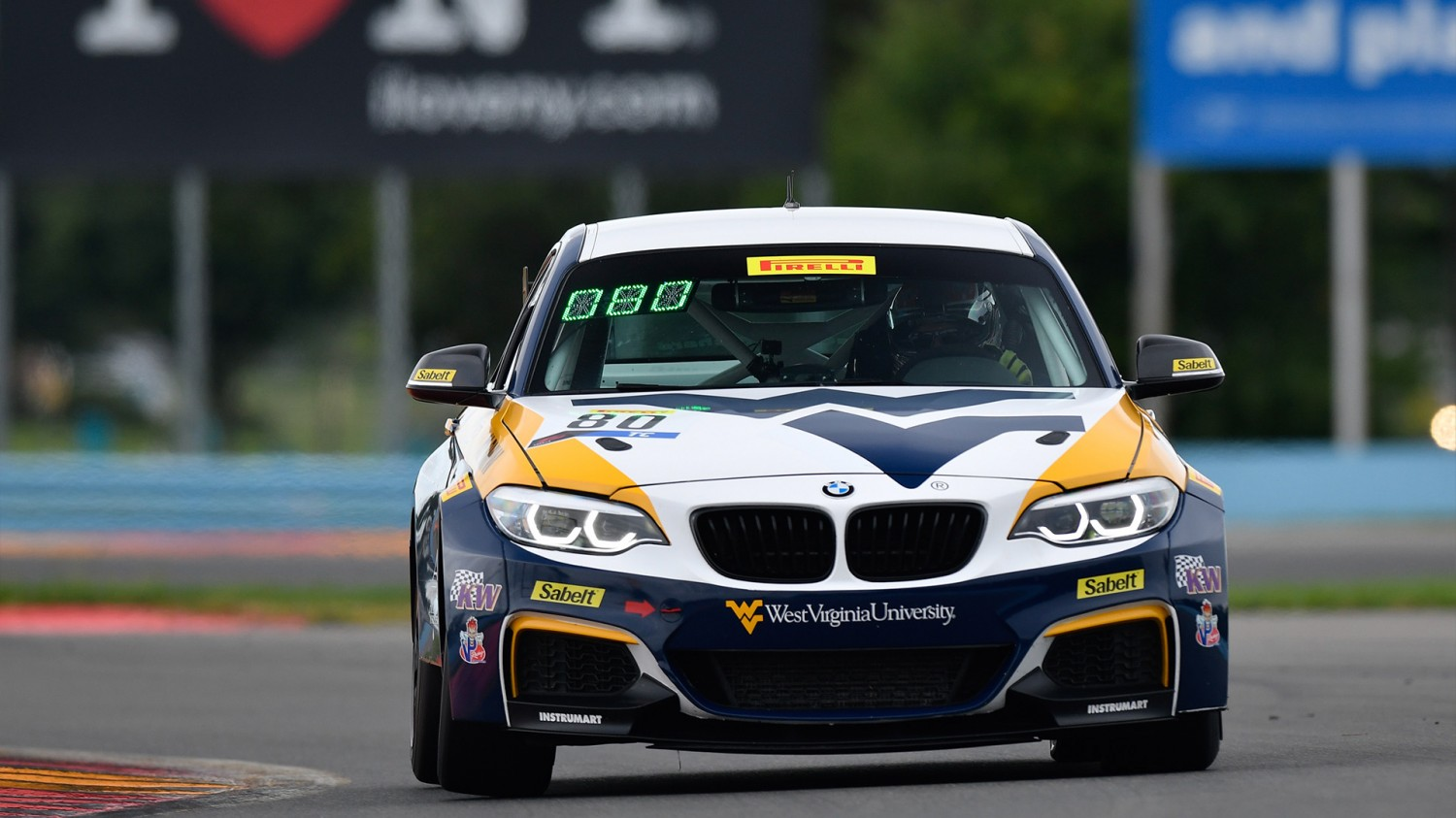 Schwartz Paces First TC America Practice at The Glen