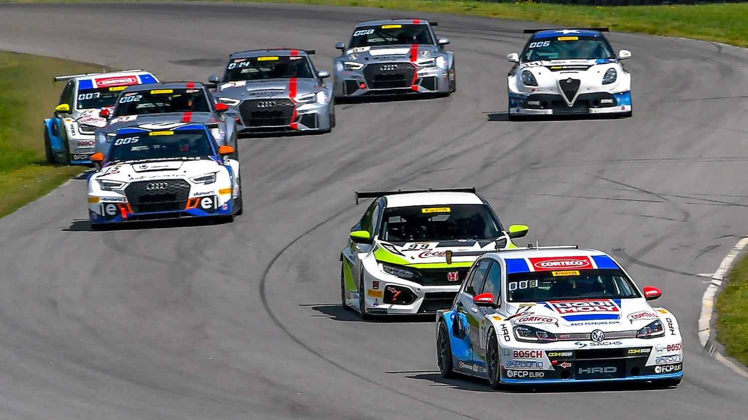 Hurczyn Leads 37-Car TC America Field to Road America