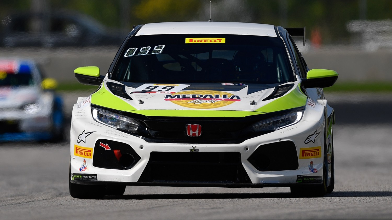 Gonzalez Fastest in TC America Practice Session 2 at Road America