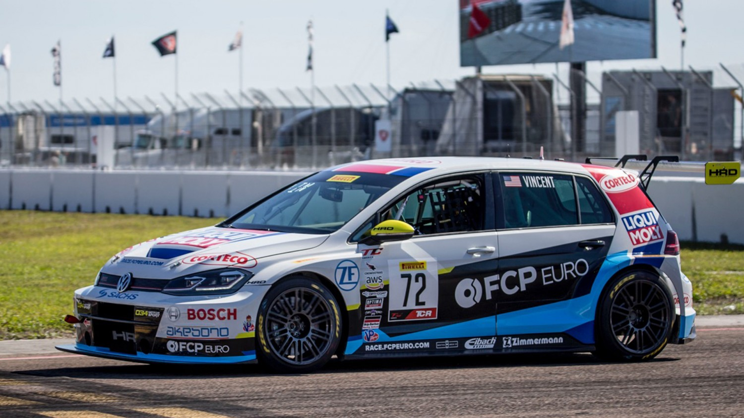 Vincent, Lauziere, Powell Lead TC America Practice 1 Classes