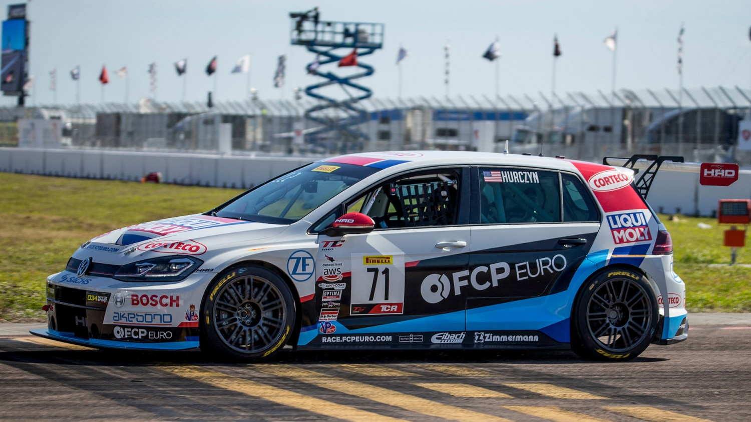 Hurczyn Takes Maiden TCR Pole as FCP Euro Locks Out St. Pete Front Row