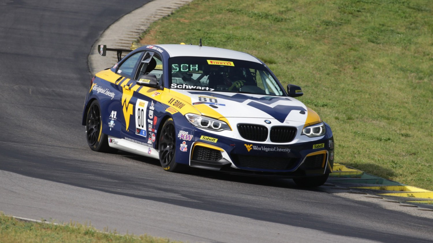 Schwartz Opens VIR Weekend with Quickest Practice 1 Time