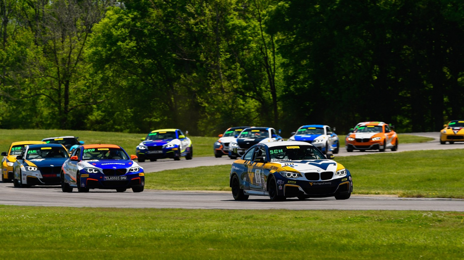 Schwartz Fends Off Grahovec for TC Race 1 Victory