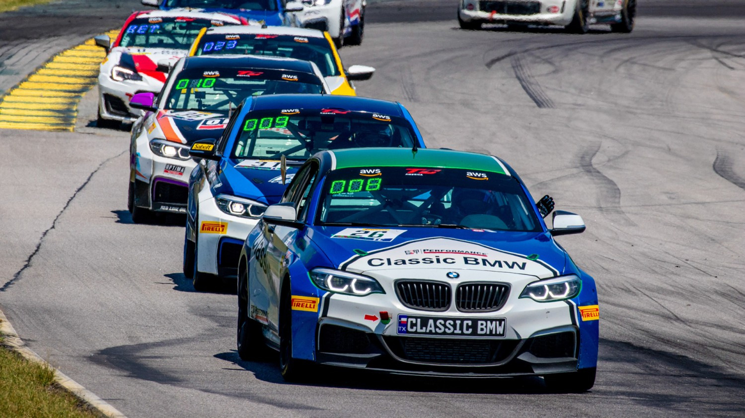 Grahovec Leads Fast Track Racing/Classic BMW Team to Sonoma  With A Three-Car Effort in Touring Car Class with Tripleheader Races