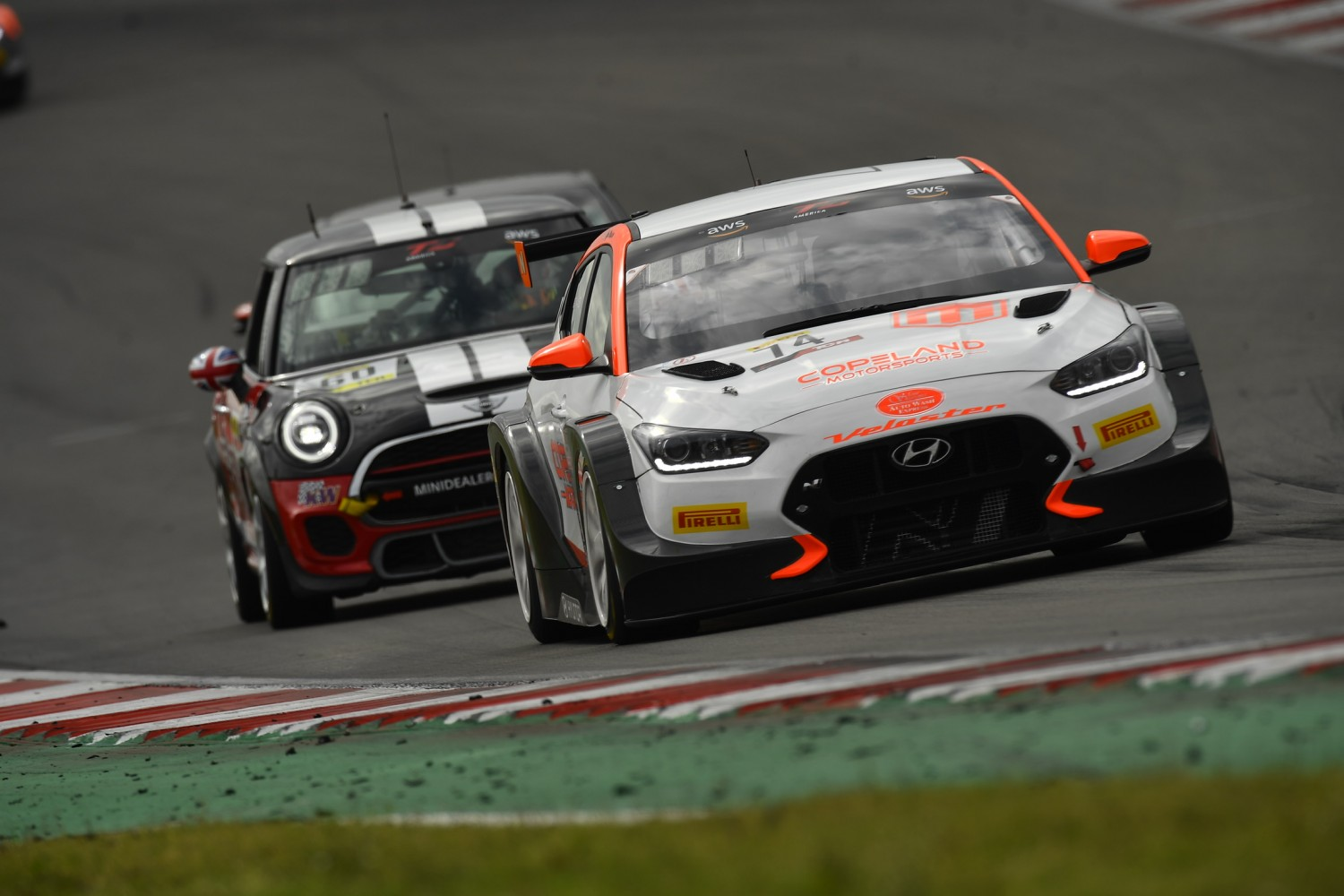 Maxson  sweeps TCR rounds at Circuit of the Americas; Federl takes TC; Mejia in TCA