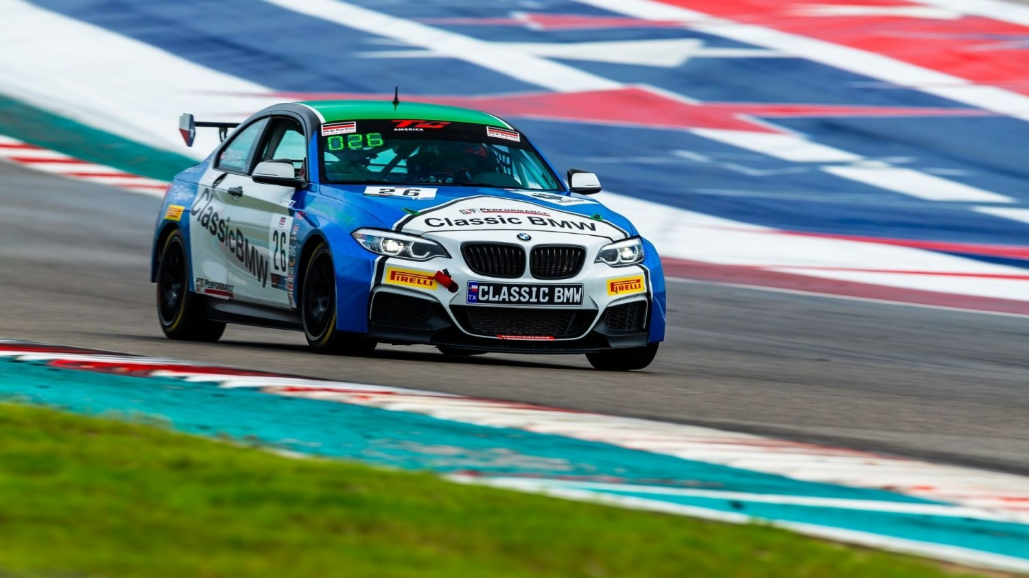 Ruud, BMW Swim to the Top of the Timesheets in Wet Practice 2