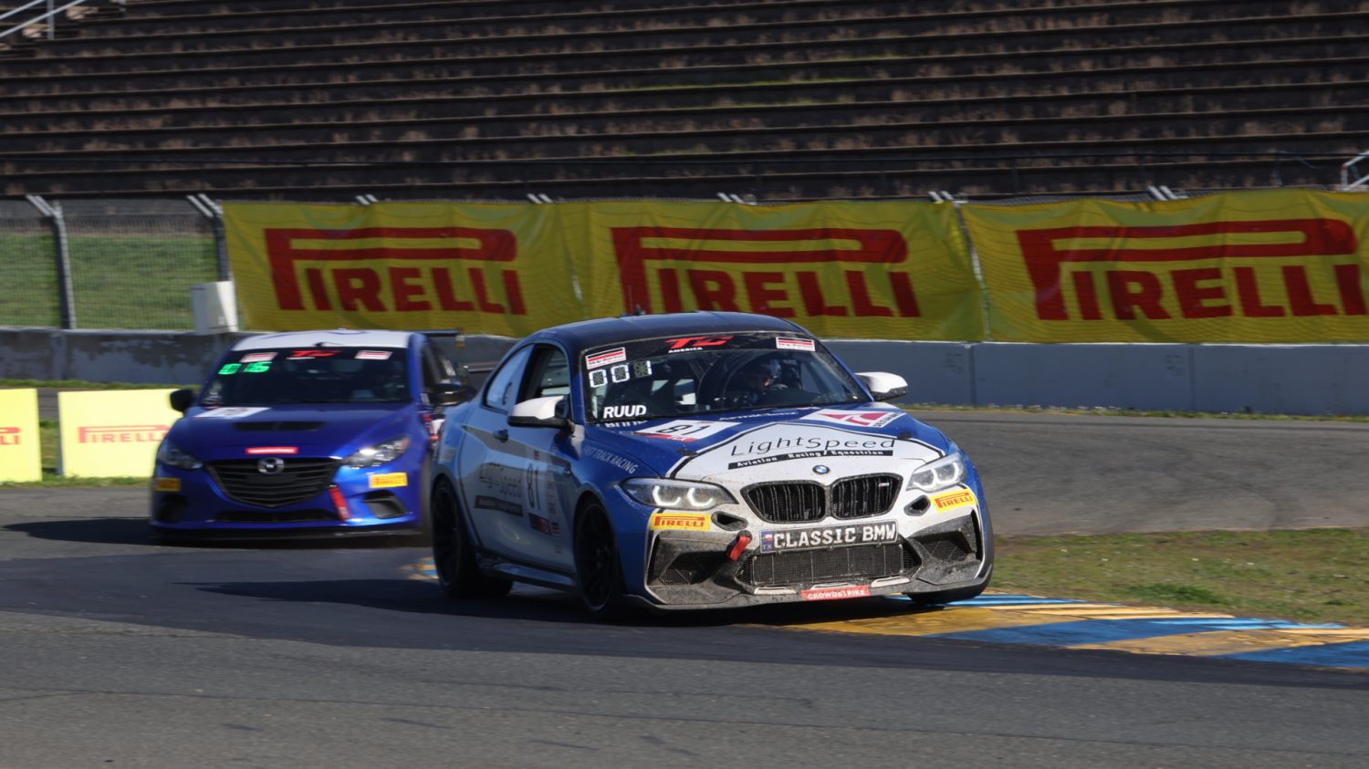 Ruud Storms To  First Ever TCX-Class Pole for TC America Presented By Skip Barber Racing School Race 1 at Sonoma Raceway
