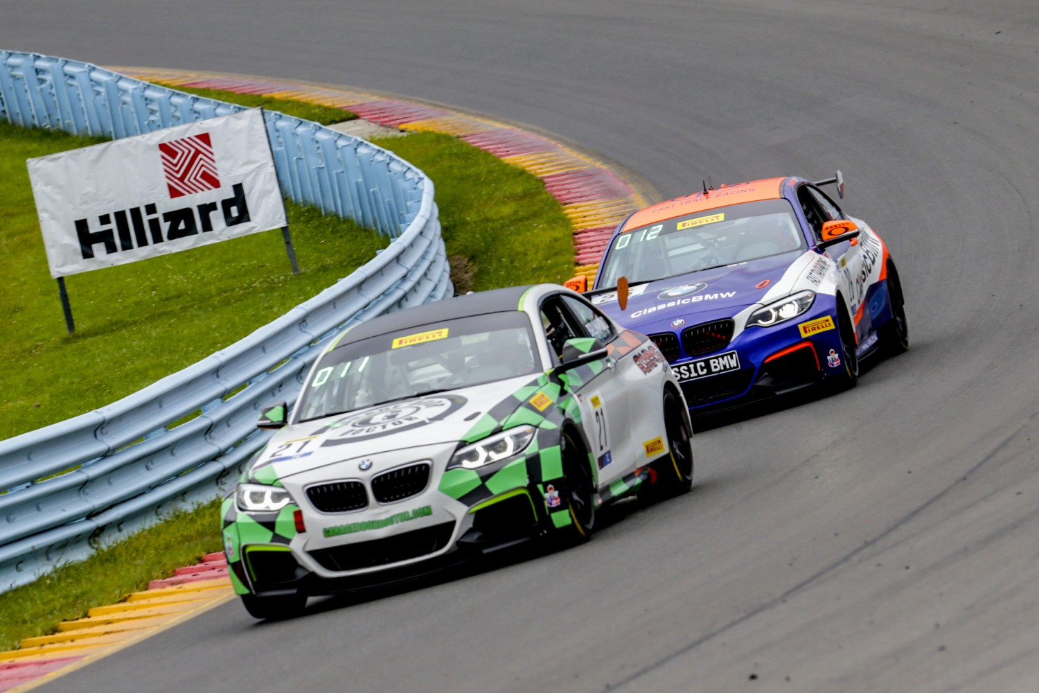 #21 BMW M240iR Cup of Mark Brummond, Auto Technic Racing, Watkins Glen World Challenge America, Watkins Glen NY  | Brian Cleary/SRO