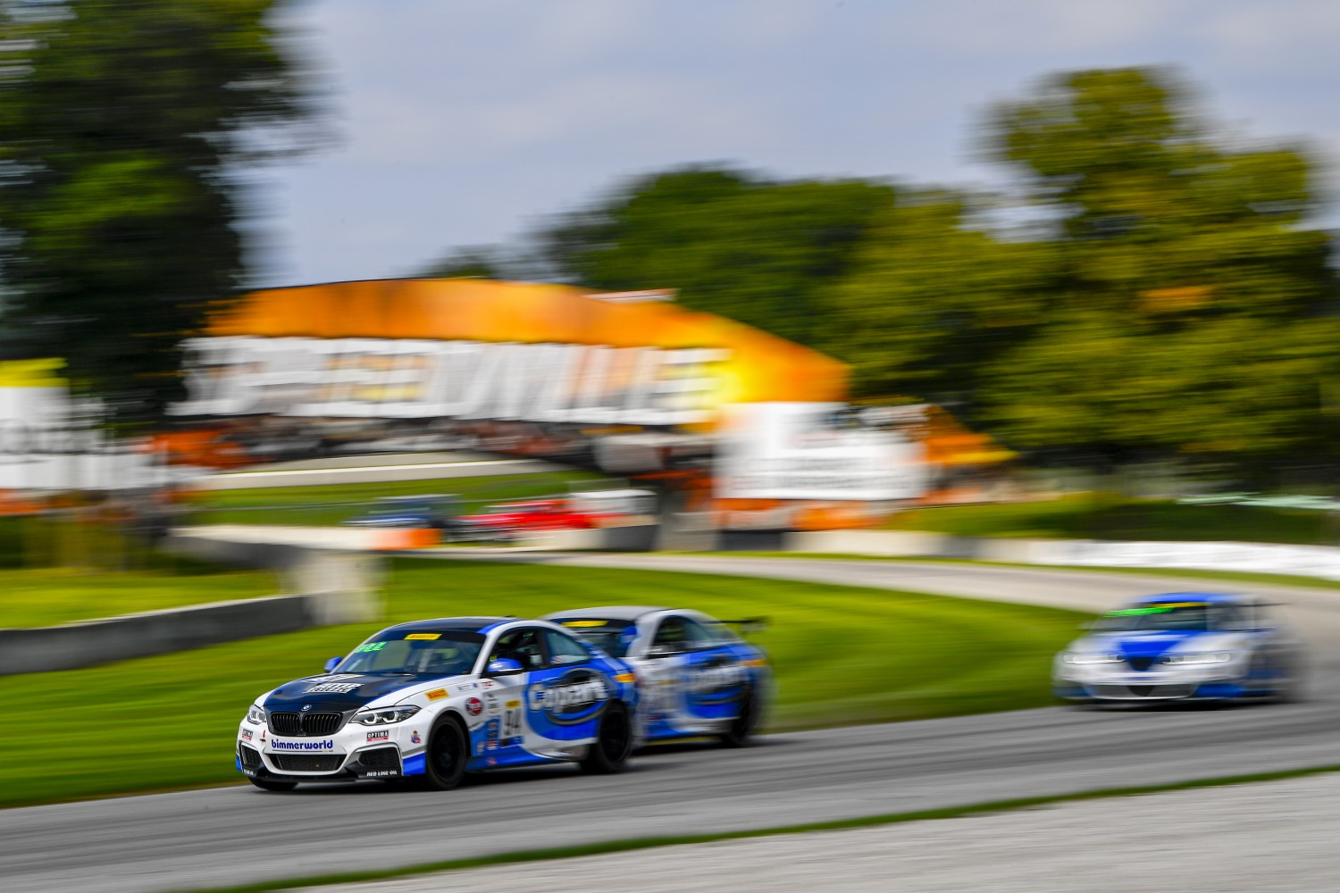 #94 BMW M240iR Cup of Chandler Hull  with Copart / BimmerWorld Racing  Road America World Challenge America , Elkhart Lake WI