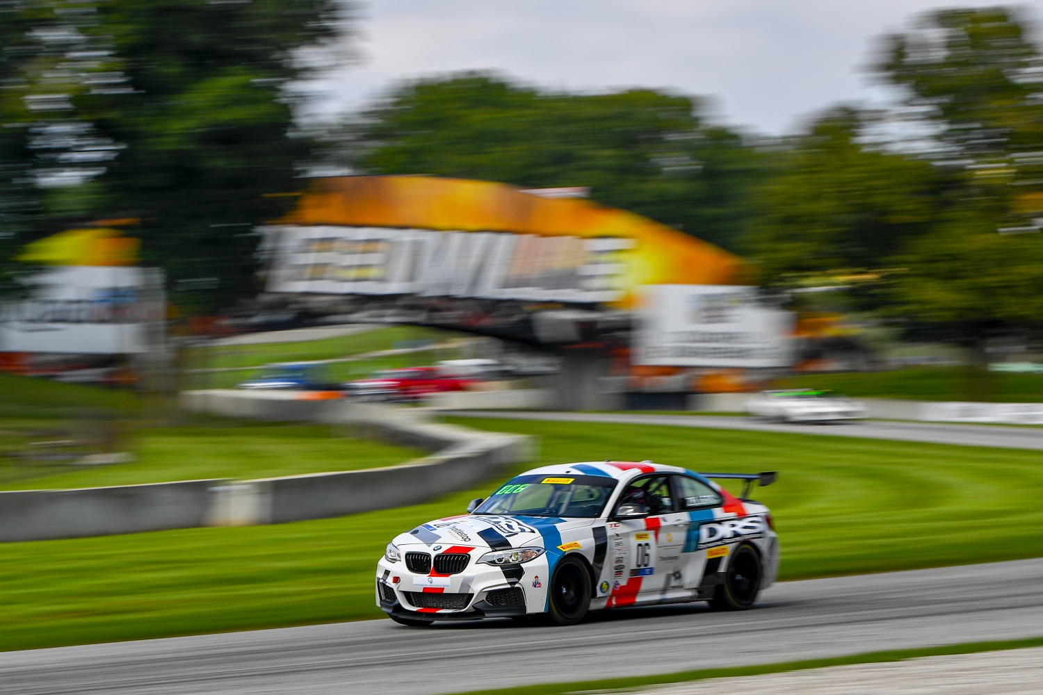 #06 BMW M240iR Cup of Hanna Zellers  with DRS (Dynamic Racing Solutions)  Road America World Challenge America , Elkhart Lake WI