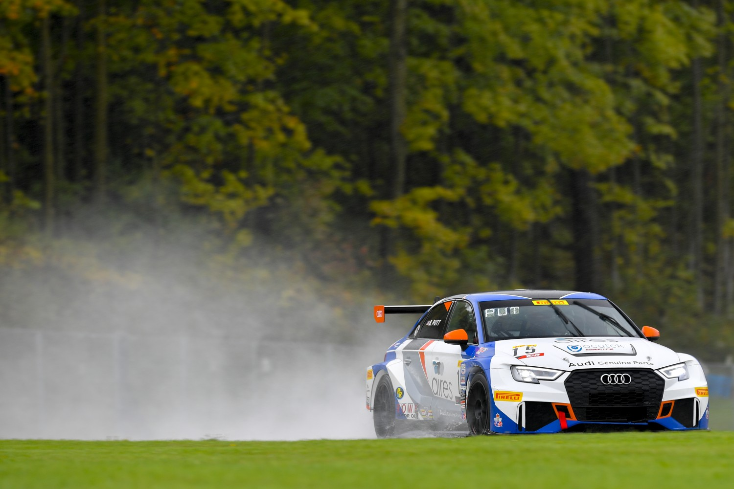 #15 Audi Sport RS3 LMS (DSG) of Bryan Putt  with Bsport Racing  Road America World Challenge America , Elkhart Lake WI