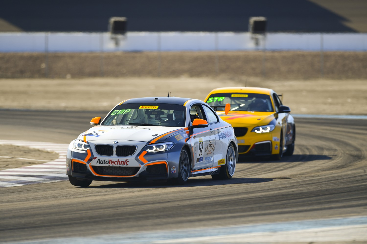#52 BMW M240iR Cup of Tom Capizzi  with Auto Technic Racing  2019 Blancpain GT World Challenge America - Las Vegas, Las Vegas NV | Gavin Baker/SRO