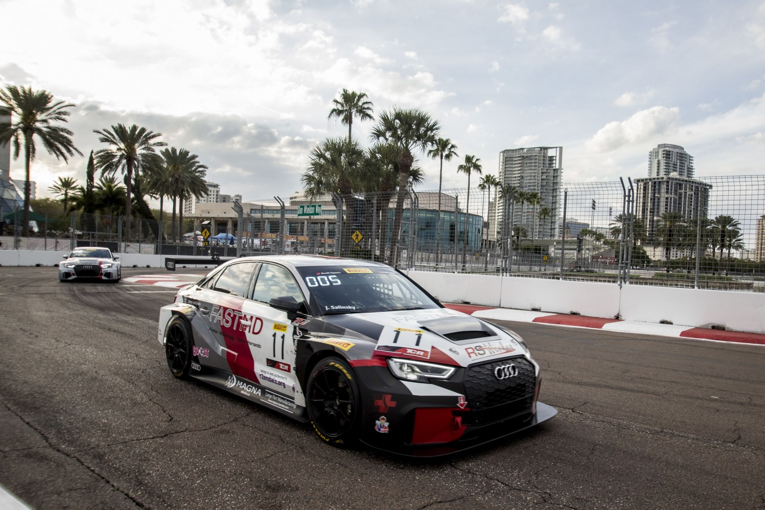 TCR Cup, RS Werkes, Jay Salinsky, Audi Sport RS3 LMS (DSG) Streets of St. Petersburg, Streets of St. Petersburg | Brian Cleary/BCPix.com