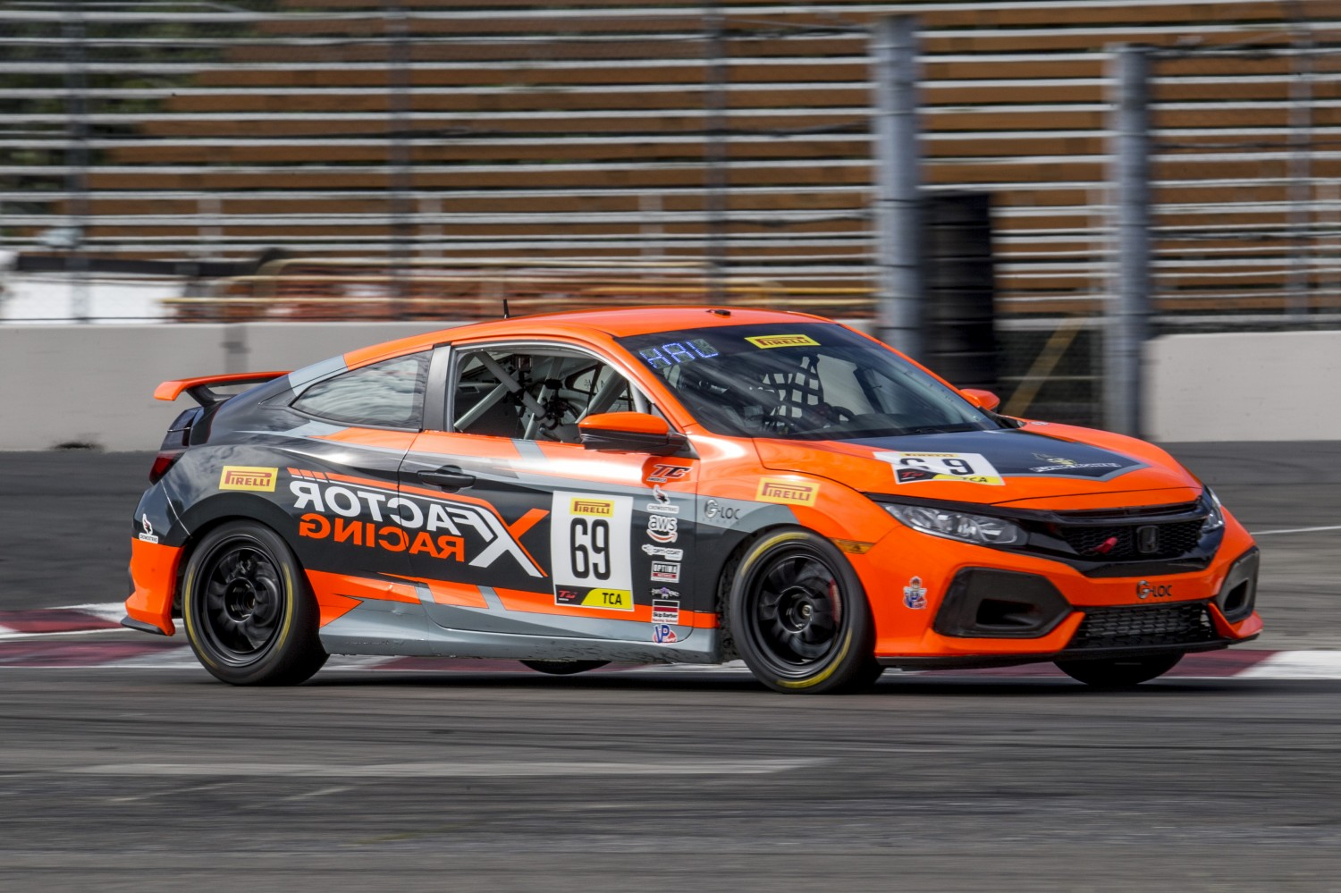 #69 Honda Civic Si of Chris Haldeman, Rose Cup Races, Portland OR  | Brian Cleary/SRO