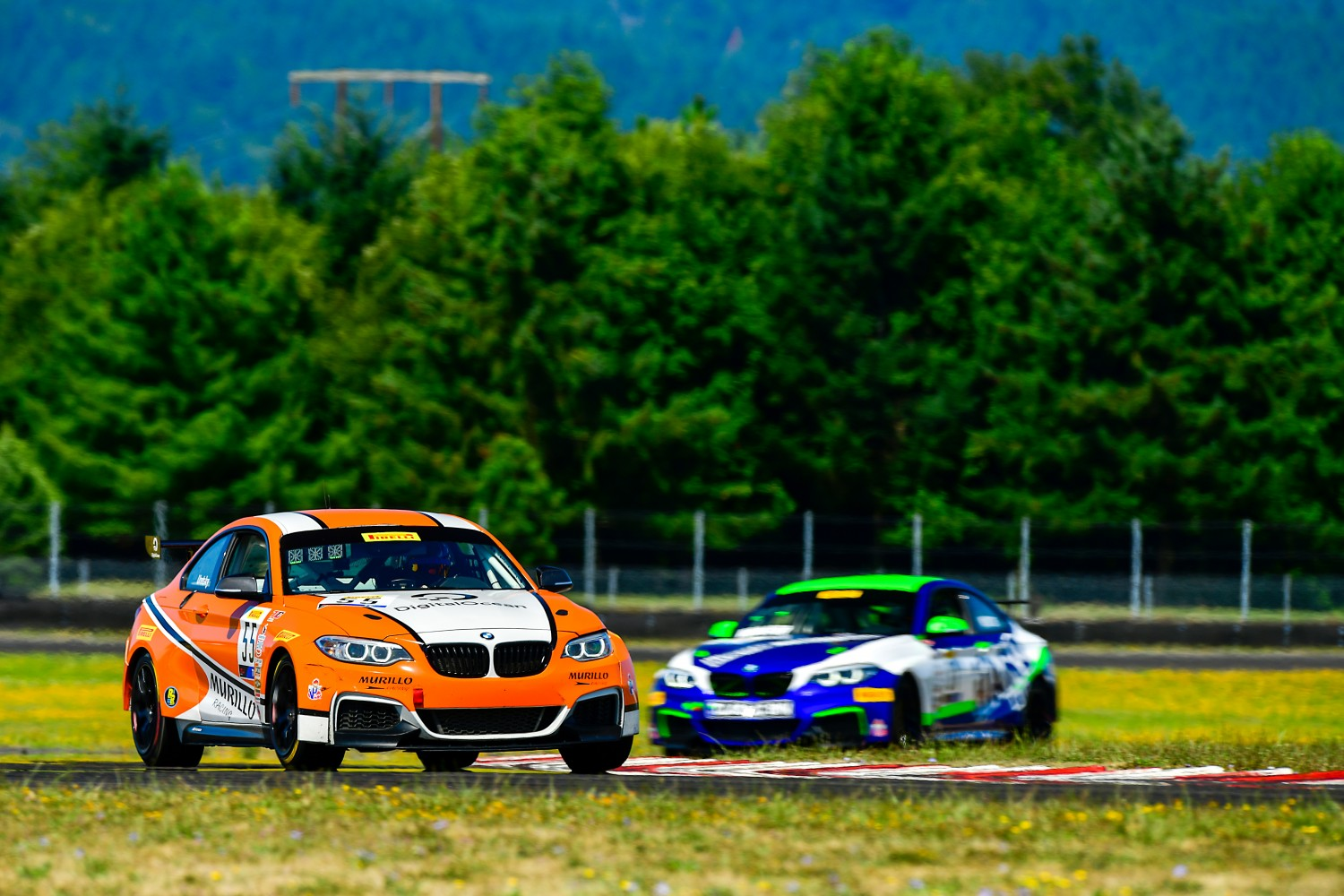 #55 BMW M235iR Cup of Moisey Uretsky    Rose Cup Races, Portland OR | Gavin Baker/SRO