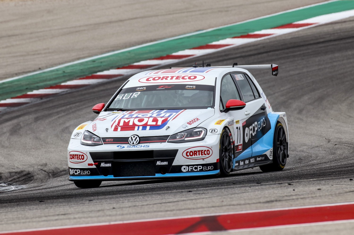 #71 TCR, FCP Euro, Michael Hurczyn, Volkswagen Golf GTI, 2020 SRO Motorsports Group - Circuit of the Americas, Austin TX  |