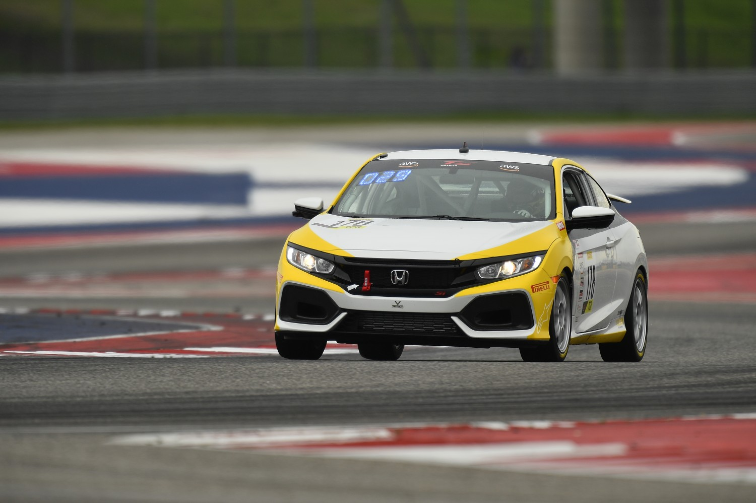 #178 TCA VGMC Racing, Jonathan Newcombe, Honda Civic Si, 2020 SRO Motorsports Group - Circuit of the Americas, Austin TX  | SRO Motorsports Group