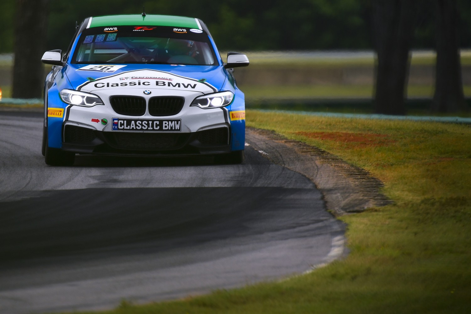 #26 TC, Classic BMW, Toby Grahovec, BMW M240iR Cup, ClassicBMW.com, 2020 SRO Motorsports Group - VIRginia International Raceway, Alton VA  | SRO Motorsports Group
