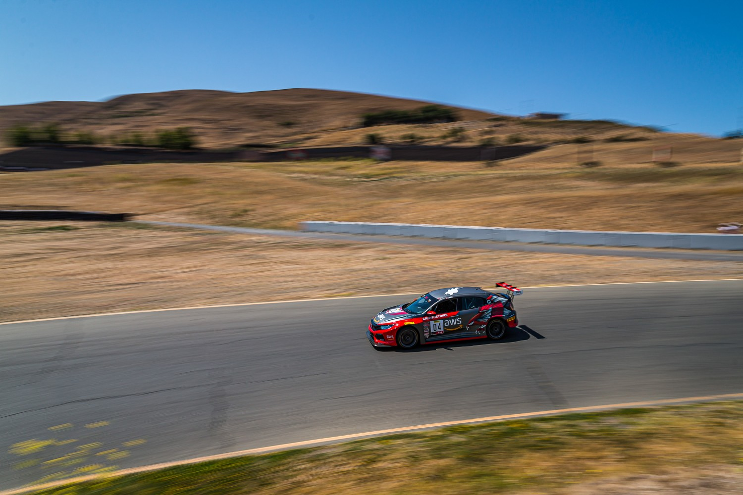 #04 Honda Civic Type-R of CJ Moses, DXDT Racing, TCR, 2020 SRO Motorsports Group - Sonoma Raceway, Sonoma CA