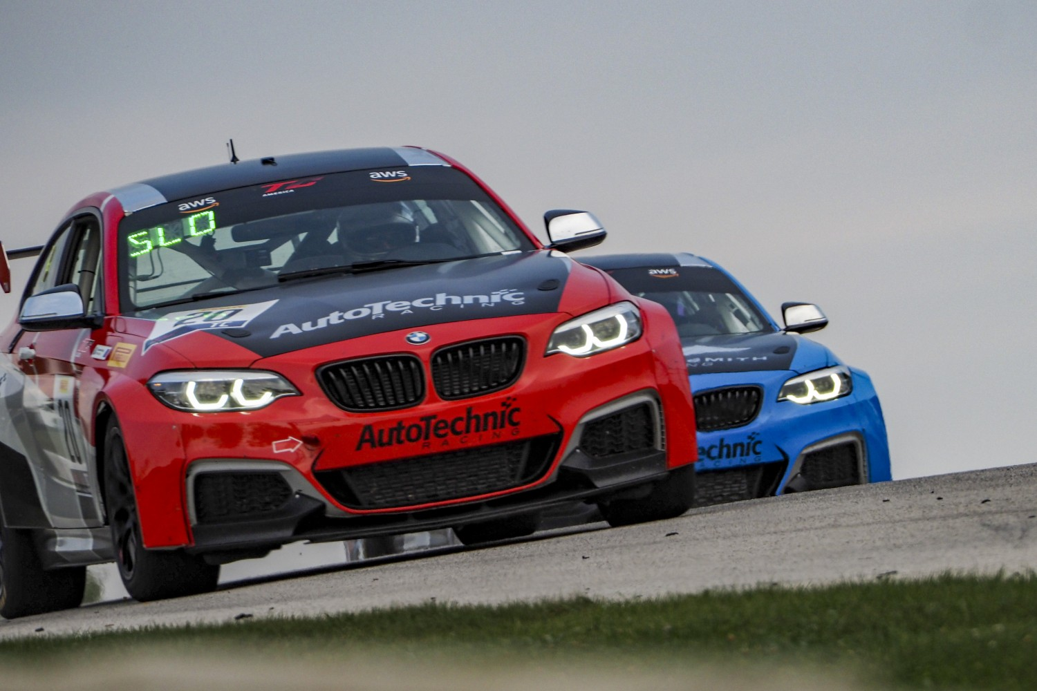 #20 BMW M240iR Cup of Rob Slonaker, Auto Technic Racing, TC, SRO America, Road America, Elkhart Lake, WI, July 2020.