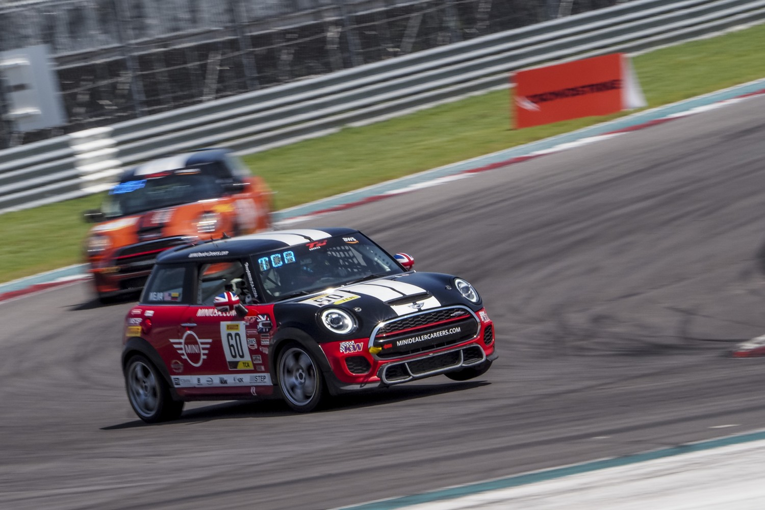 #60 MINI Cooper JCW of Tomas Mejia, MINI JCW Team, TCA, SRO America, Circuit of the Americas, Austin TX, September 2020.  | Brian Cleary/SRO