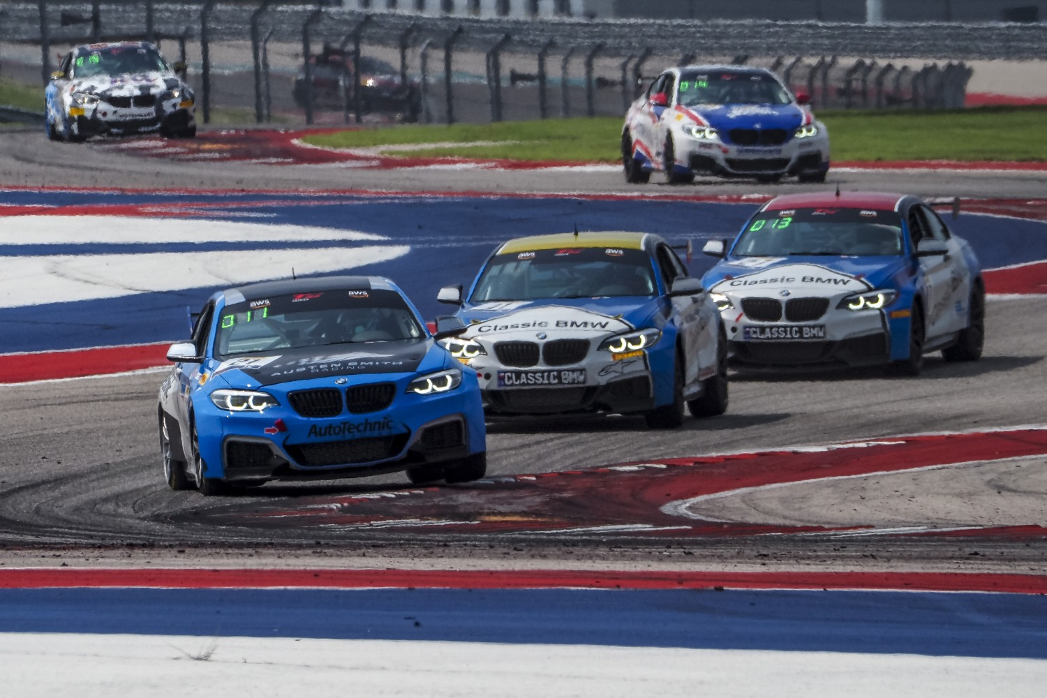 #21 BMW M240iR Cup of Austen Smith, Auto Technic Racing, TC, SRO America, Circuit of the Americas, Austin TX, September 2020.  | Brian Cleary/SRO