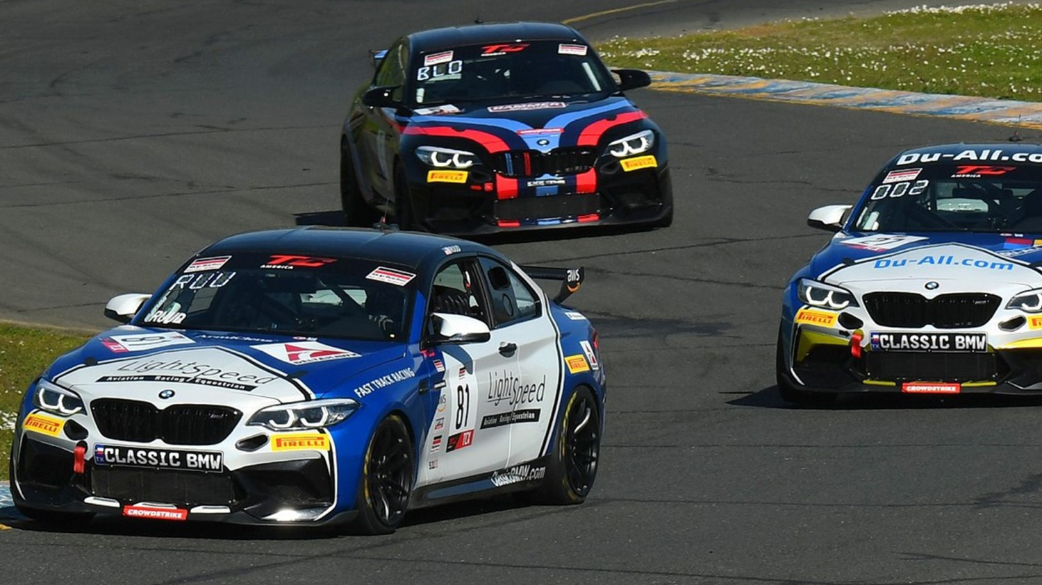 Ruud Debuts in TCX Class with Double BMW M2 Cup Wins at Sonoma This Weekend for Fast Track Racing/Classic BMW in SRO Opener