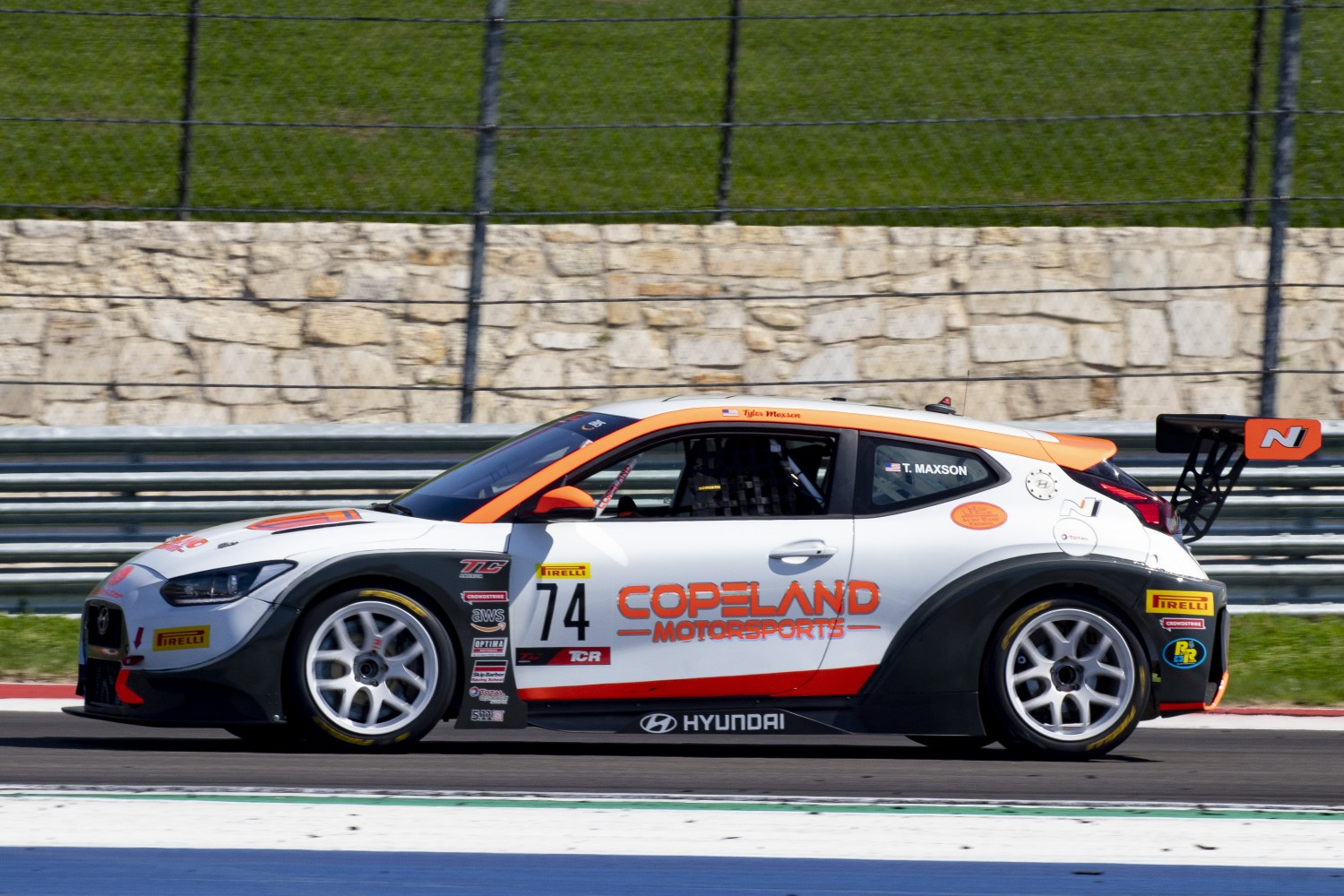Maxson on top in TC America TCR Practice Session 1 at COTA; Hull in TC; Gonzalez in TCA