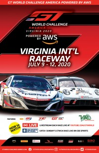 VIRginia International Raceway Poster